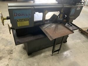 Doall 9 X 16 Swivel Horizontal Bandsaw Model C916s 3 Phase Miter Saw