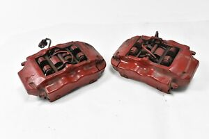 07 15 Audi Q7 4 2l Brembo Rear Right And Left Side Brake Calipers Oem