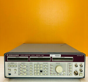 Rohde Schwarz 100 Khz To 2000 Mhz Smh Signal Generator for Parts Repair