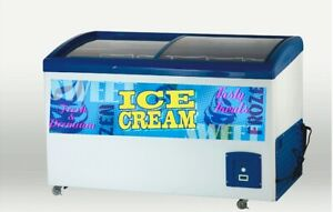 Ice Cream Decals For Freezers Walls Windows And Carts