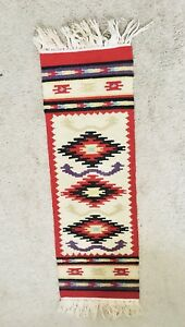 Rug Vintage Mini Wall Hanging Hand Made Vintage Woven