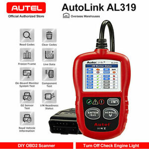 Autel Obd2 Car Fault Code Reader Diagnostic Scan Tool For Gm Toyota Nissan Acura