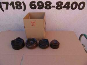 Greenlee 2 1 2 To 4 Inch Knockout Punch Set For 7310 Works Great 10