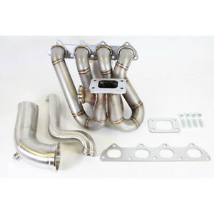 Plm B Series Top Mount Turbo Manifold With Up Pipes Dump Tube Hood Exit