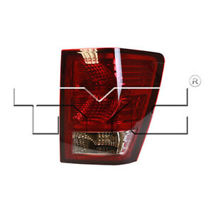 Fits 2007 2010 Jeep Grand Cherokee Tail Light Passenger Side Capa Certified