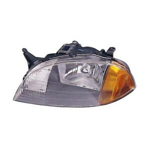 Gm2502166 Fits 1998 2001 Chevrolet Metro Driver Side Headlight