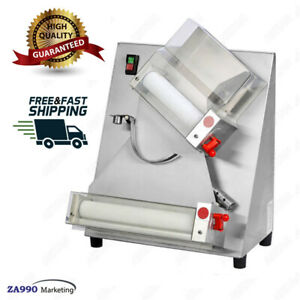 Commercial 370w Electric Pizza Dough Roller Sheeter Machine Pizza Making Machine
