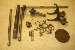 1955 Ferguson To 35 Gas Tractor Transmission Shifter Forks And Parts Gears