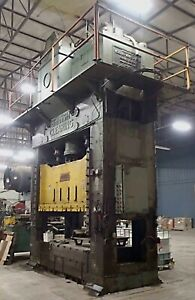 660 ton Clearing S4 650 108 64 Straight Side Press