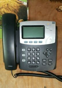 Digium D40 Hd Voice Ip Phone W Backlit Display No Power Supply Pulled Working