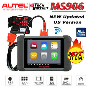 2021 Autel Maxisys Ms906 As Ms906bt Obd2 Wifi Scanner Diagnostic Tool Ecu Tpms