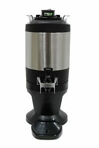 New Curtis Tft15g 1 5 Gallon Thermal Freshtrac Dispenser With Lockable Base