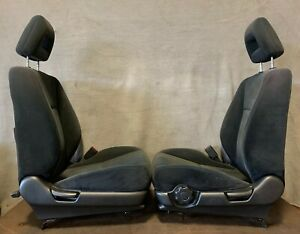 2001 2005 Honda Civic Coupe Front Bucket Seats Left Right Seat Black Manual Oem