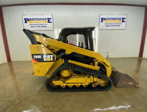 2015 Cat 289d Cab Track Loader Skid Steer With Manual Quick Attach