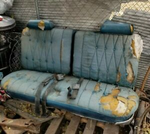 1969 1970 Chevy Caprice Impala Front Bench Seat 2 Door Split Chevrolet 69 70 Gm