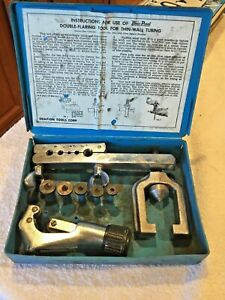 Blue Point Double Flaring Tool Set Must See With Case