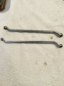 2 Snap on Offset Bleeder Wrench Tools b1458c 1 4 3 8 b1467a 5 16 3 8