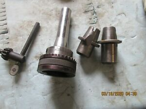 Bridgeport R8 Master Quick Change Tool Holder With Morse Number 1 And 2