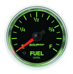 Auto Meter 2 1 16 Gs Fuel Level Gauge Universal