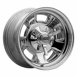 Cragar 3907705 Wheel Street Pro Steel Chrome 17 In X 7 In 5 X 4 5 4 75 In