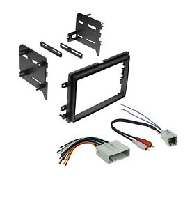 Car Radio Stereo Dash Install Kit With Harness 2004 2011 Ford Lincoln Mercury