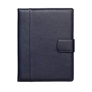Maruse Italian Leather Executive Padfolio Folder Organizer With Magnetic And In