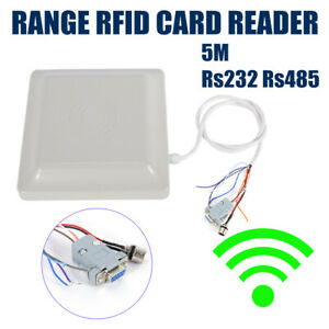 Wiegand26 5 8m Long Distance Uhf Rfid Card Reader For Parking Management System