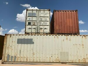 Used 40 High Cube Steel Storage Container Shipping Cargo Conex Seabox Nashville