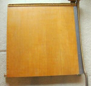 Vintage Ingento No 6 Guillotine Paper Cutter Trimmer 24 X 24 Pick Up Only
