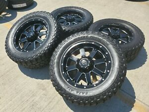 20x9 Gear 726mb Big Block Ford F 250 F 350 Black Rims Wheels 35 Tires 0 8x170
