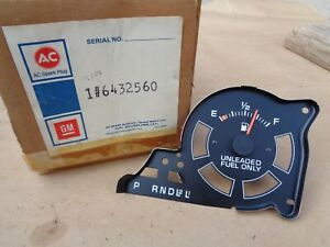 Nos 1978 1979 Chevy Impala Fuel Gauge Original Gm Ac Caprice