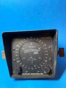Vintage Tom Mann Humminbird Super Thirty Waterproof Depth Sounder ICL30