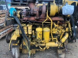 Caterpillar D343 Turbo Diesel Engine Runs Exc 983 Crawler 1693 Cat 988a