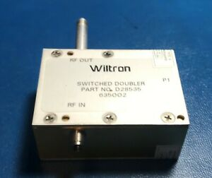 Anritsu wiltron D28535 40 Ghz Switched Doubler Module