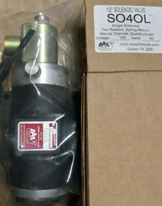 Aaa Electric Over Air Valve single Solenoid 1 2 So4ol S040l