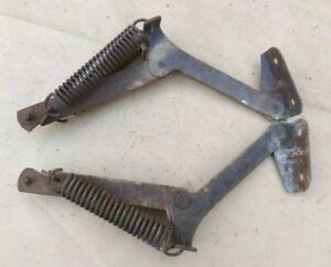 1948 1952 Ford Truck Hood Stay Up Arms Original Pair Props Springs F1 F2 F3 F4