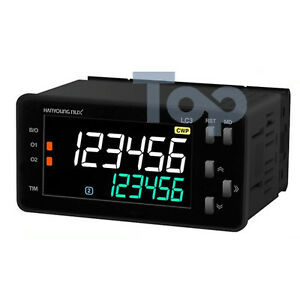 Hanyoung Nux Lcd Counter Timer Lc3 p62ca 96x48mm 6 Digits 2 stage Output Rs485