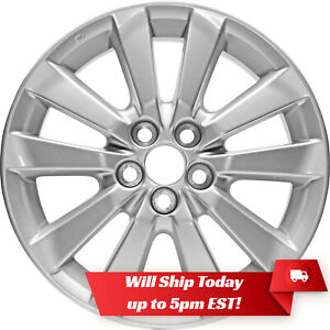 New Set Of 4 16 Replacement Alloy Wheels Rims For 2003 2011 Toyota Corolla