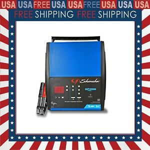 Speed Battery Charger Car Boat Rv Truck Auto Farm Agm Garage Tool