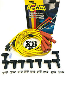 Universal Spark Plug Wires 8mm Ignition For Ford Chevy Sbc Bbc Hei Super Stock