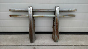 Rare Vintage 1947 1953 Chevy Gmc Big Truck Factory Accessorie Grille Guard Gm