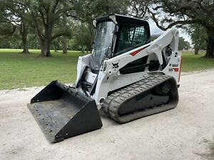 Caterpillar 287d Skid Steer Loader Hi Flow Joystick Controls A c