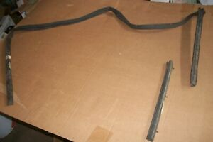 Nos 1965 68 Galaxie Convertible Top Rail Weatherstrips