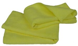 Eurow Microfiber Glass Cleaning Towel 14in X 14in 2 Pack