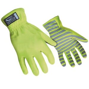 Ringers Gloves 307 08 Reflective High Visibility Traffic Control Gloves Small