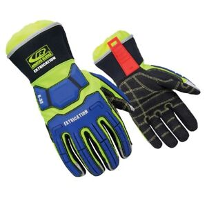 Ringers Gloves 337 08 R33 Extrication Durable Grip Cut Resistant Gloves Small
