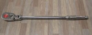 Snap On S711a 1 2 Long Flex Head Ratchet Pre Owned