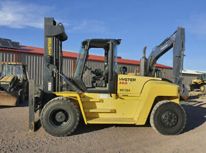 2015 Hyster H360hd2 Forklift Hours 849 Capacity 36 000 Lbs
