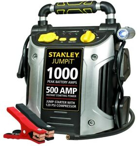 Stanley Jumpit Battery Charger Car Jump Starter Emergency Power Supply 1000 Amps