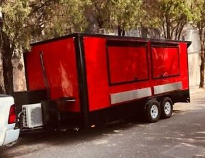 New Food Trailer 18 X 8 Fully Stainless Steel